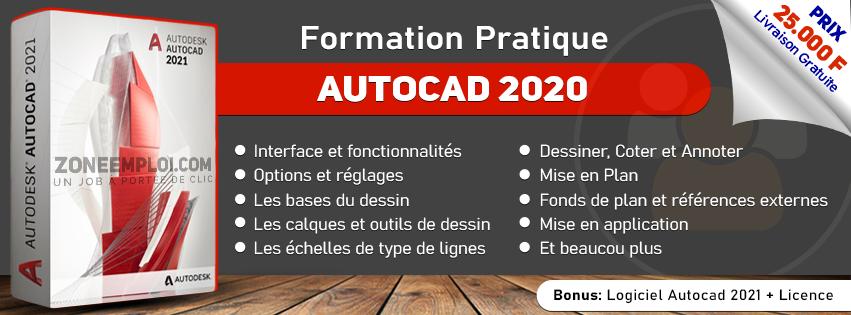 Formation Pratique AUTOCAD 2020
